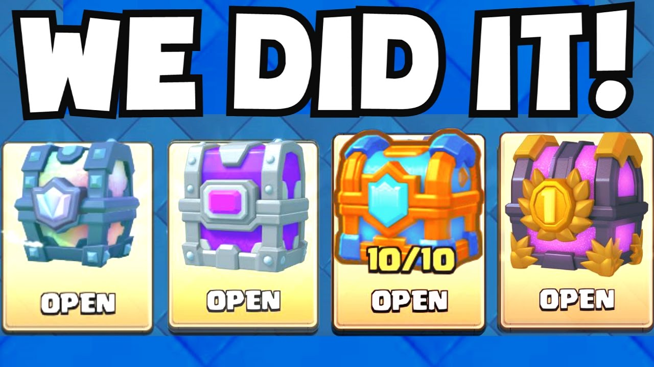 OPENING ALL OF MY BEST CHESTS.