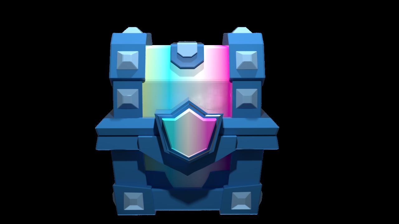 ART] Legendary Chest 3D Render : ClashRoyale.