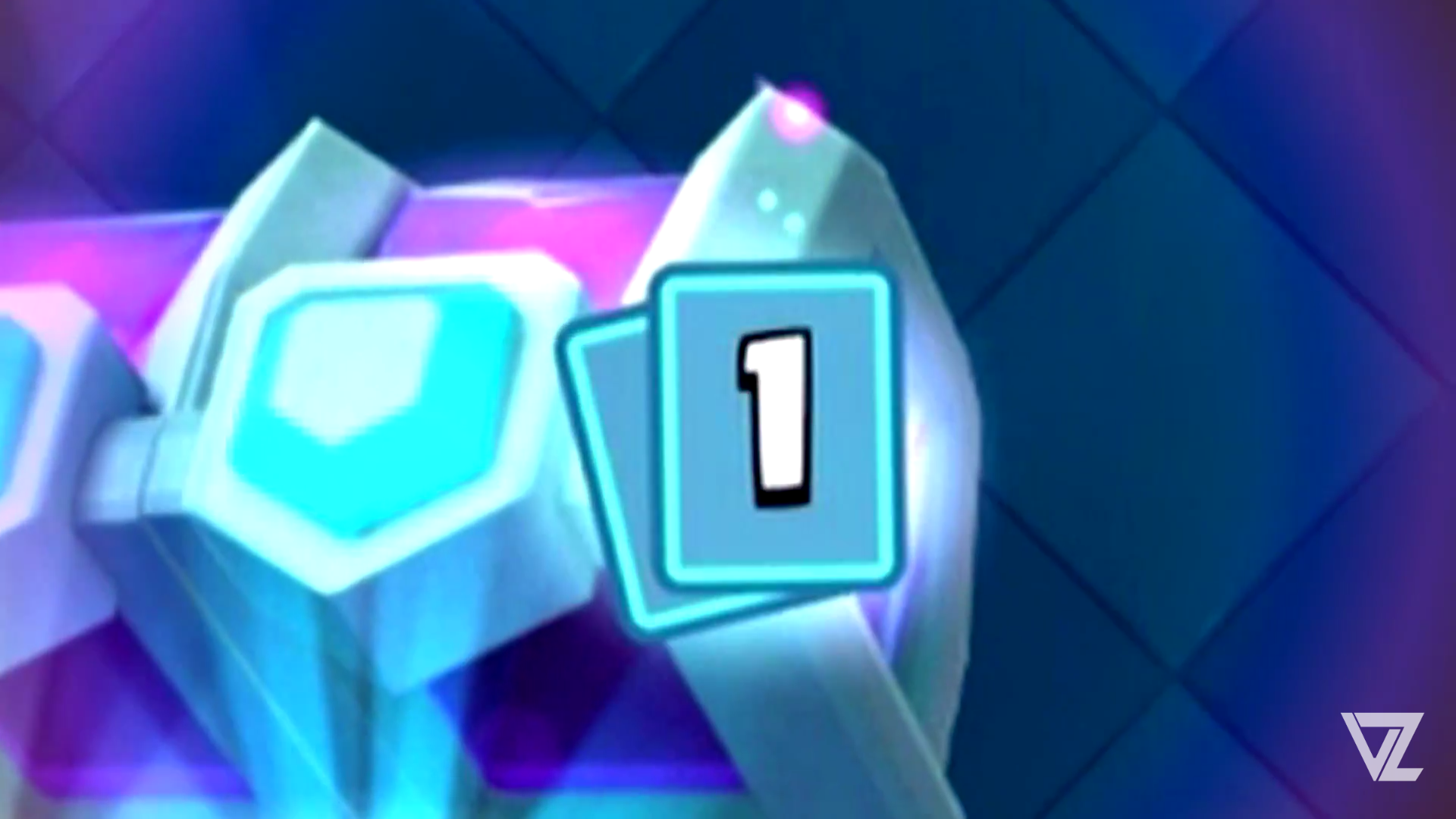 New rainbow effect on the card when the last card is a legendary.
