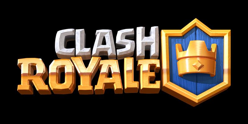 Clash Royale Logo transparent PNG.