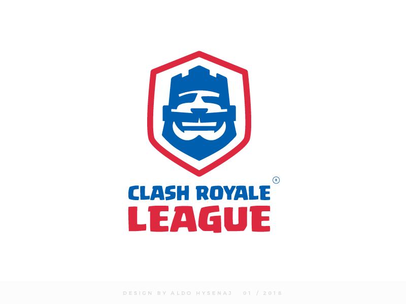 Clash Royale League Logo Final Version by Aldo Hysenaj on Dribbble.