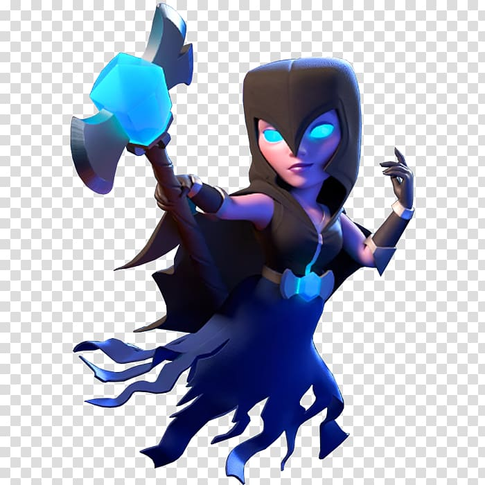 Clash of Clans Witch Queen illustration, Clash Royale Clash of Clans.
