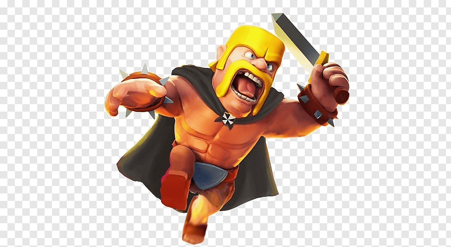 Clash of Clans Barbarian King illustration, Cheats For Clash.