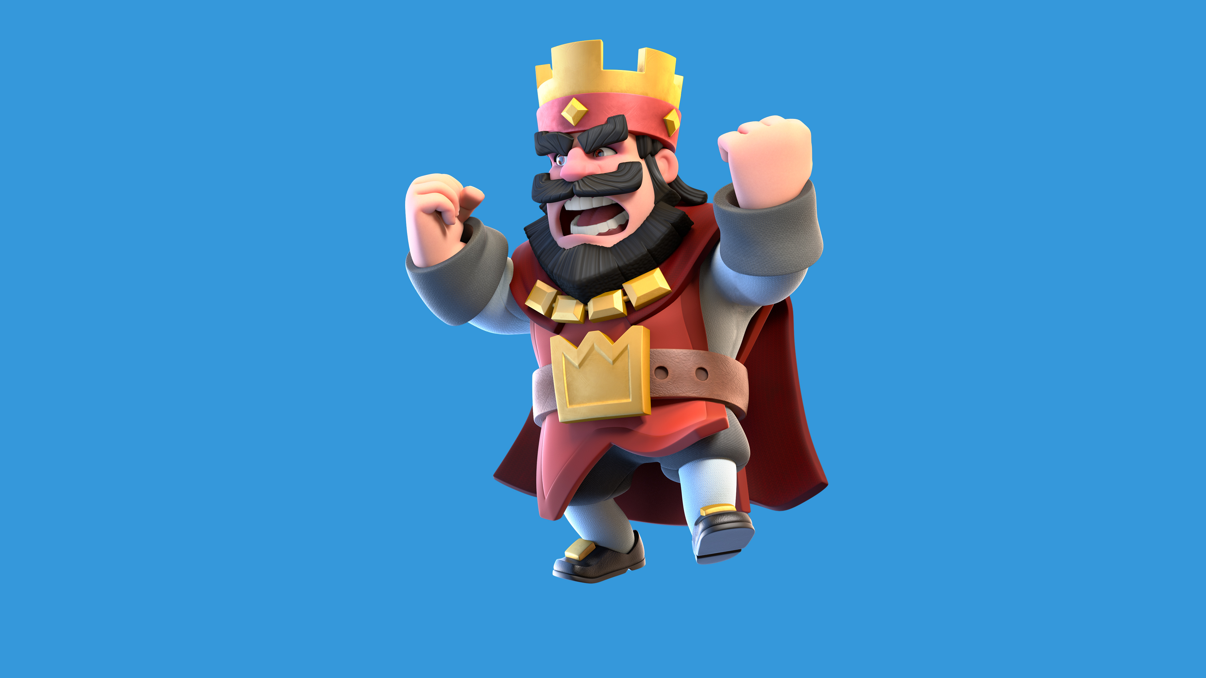Download Clash Royale Red King.