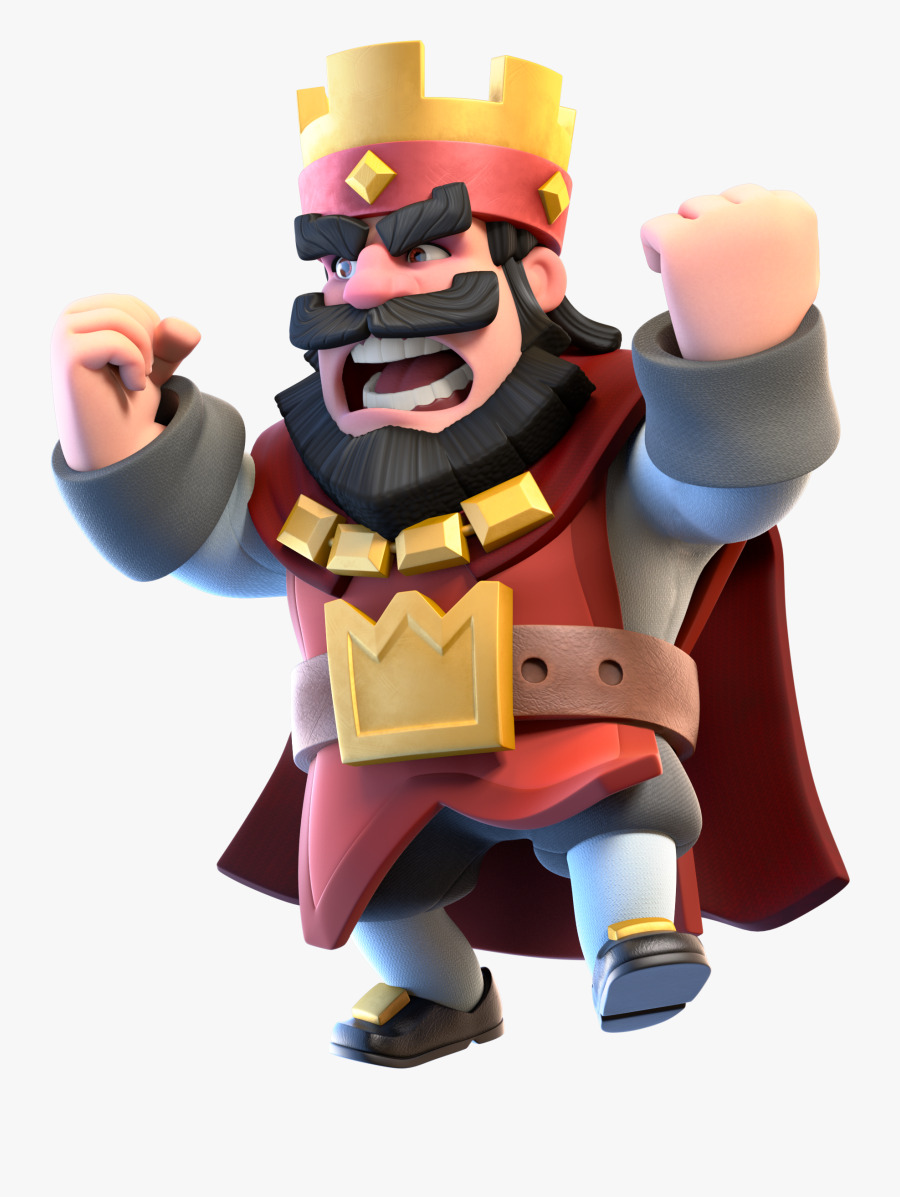 Clash Royale King Png.
