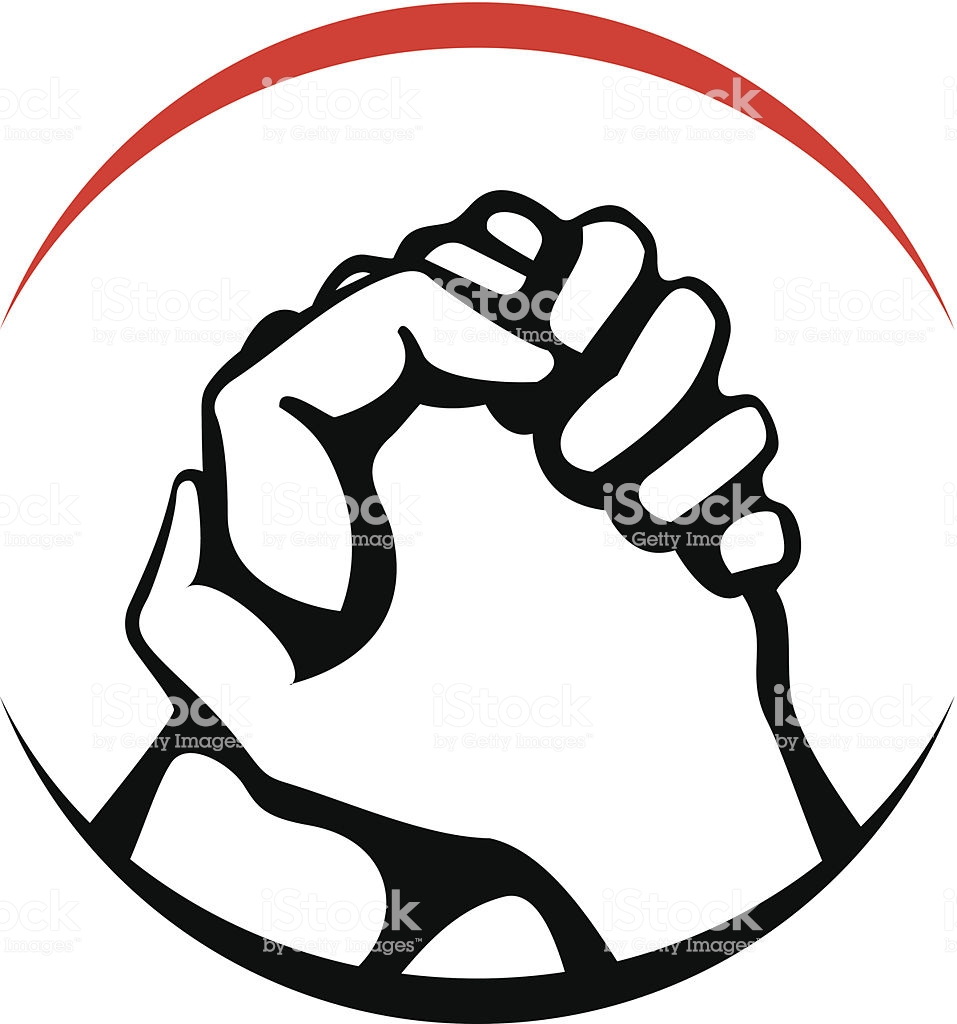 Clasped hands clipart 6 » Clipart Station.