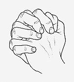 Clasped hands clipart 4 » Clipart Station.