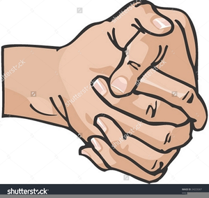 Free Clipart Clasped Hands.