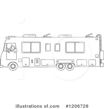 Motorhome Clipart #1206728.