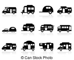 Motorhome Illustrations and Clipart. 1,889 Motorhome royalty free.
