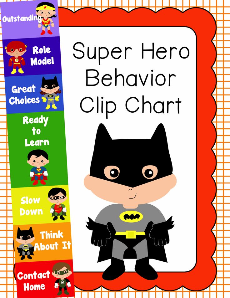 17 Best ideas about Superhero Behavior Chart on Pinterest.