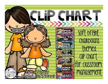 Chalkboard Clip Chart.