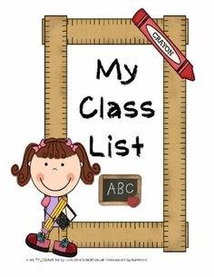 class list.