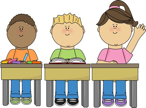Clipart Student Listening.