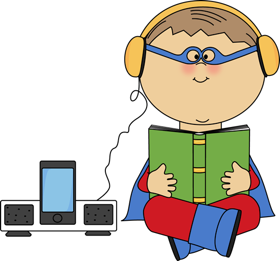 Student Listening Clipart.