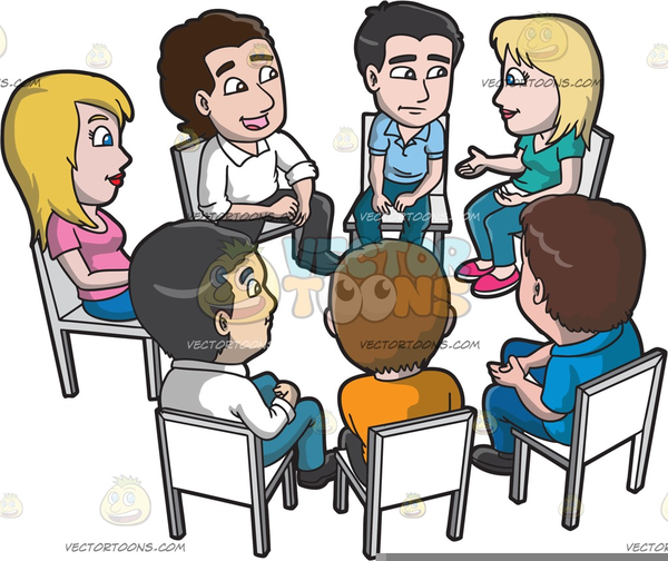 People,Cartoon,Social group,Conversation,Sharing,Illustration.