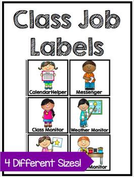 Class Job Labels.
