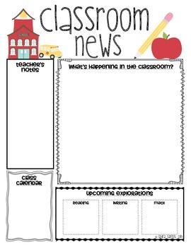 free fall newsletter templates.