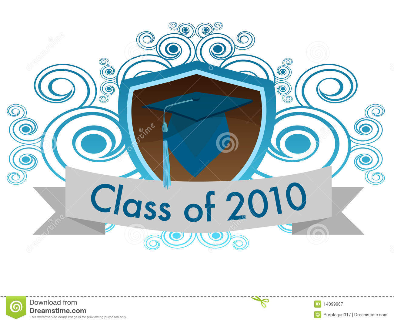 Class Of 2010 Royalty Free Stock Photography.
