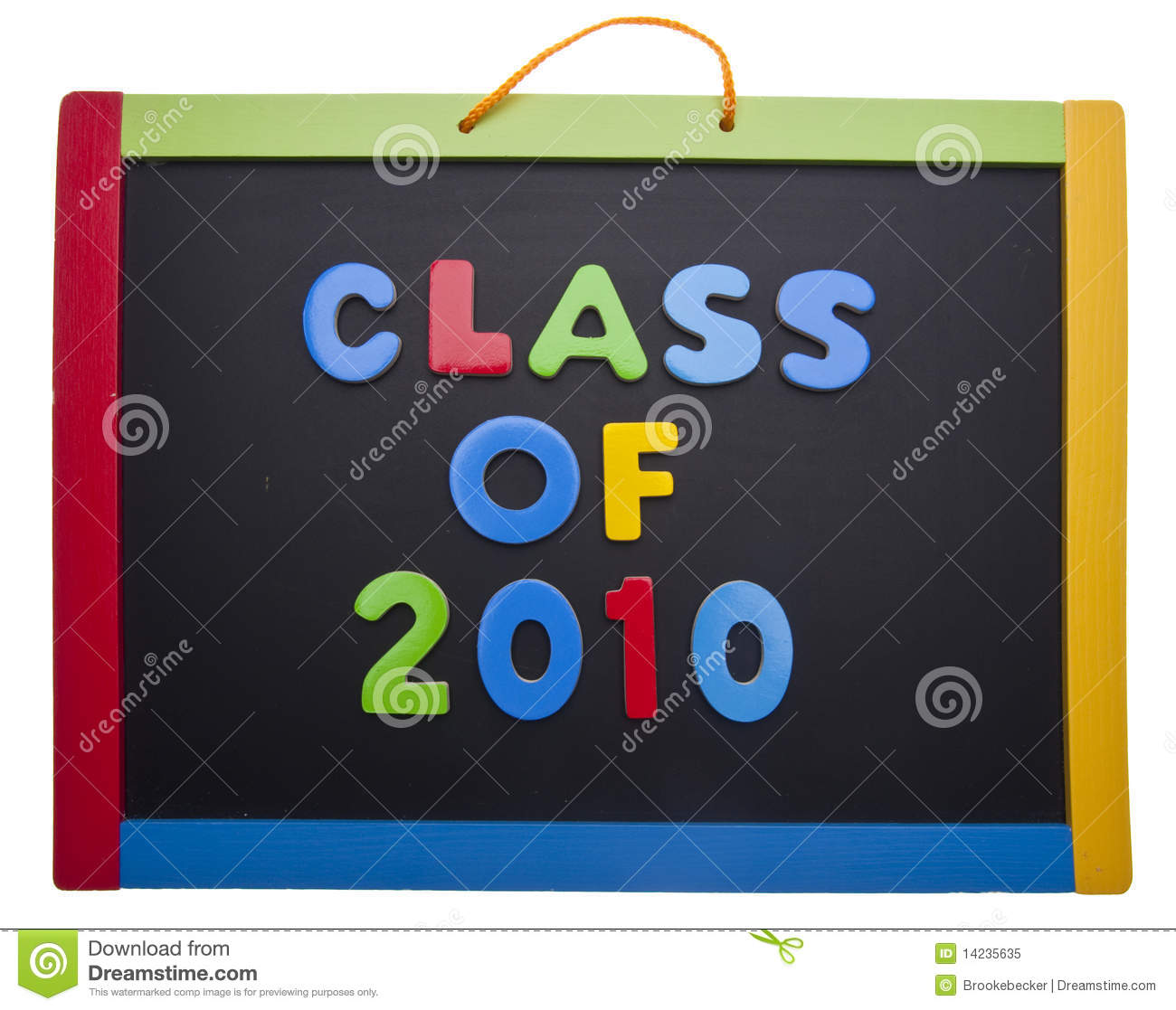 Class Of 2010 Royalty Free Stock Photo.