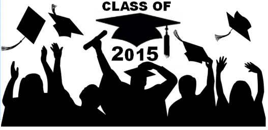 2015 Graduation Cliparts.
