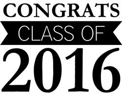 Class Of 2016 Transparent Clipart.