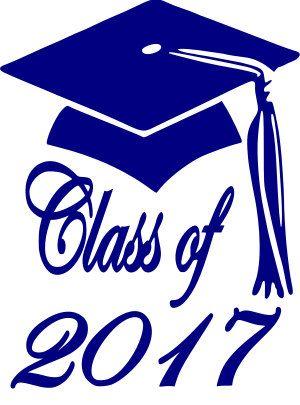 Class Of 2017 Clip Art 4, Class Of 2017 Blue Free Clipart.