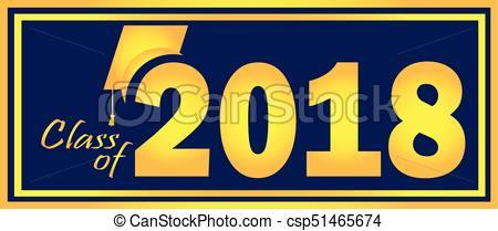 Class of 2018 Graduation Banner.
