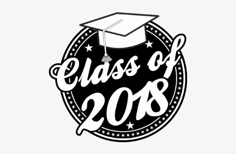 Class Of 2018 Graduation Window Cling.