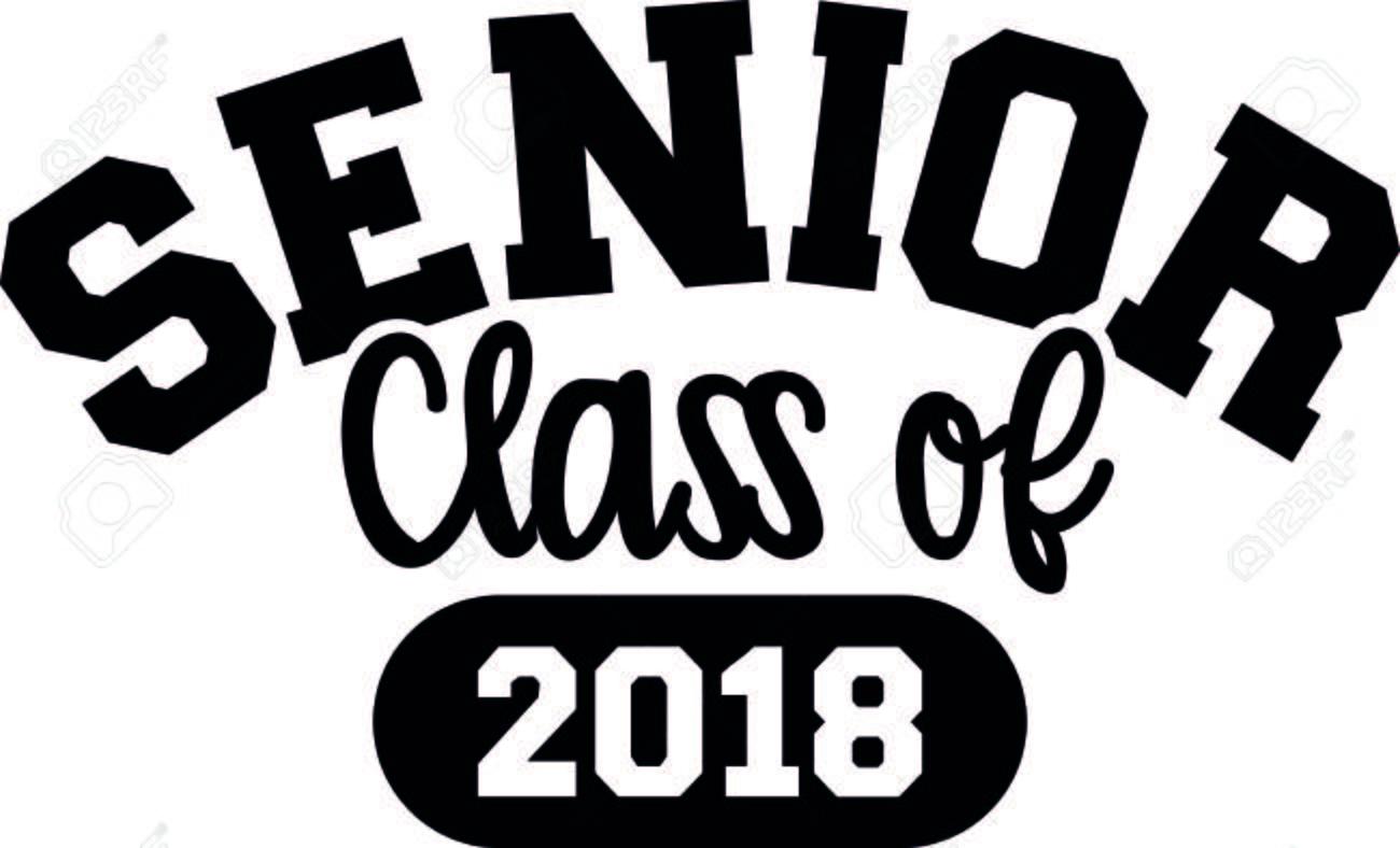 Senior class of 2018 black.
