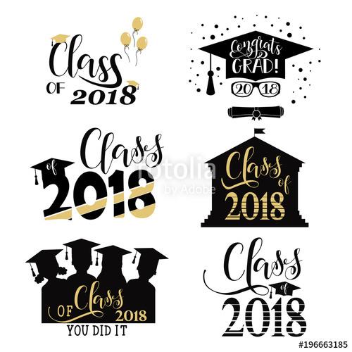 Download graduation posters class of 2018 clipart Graduation.