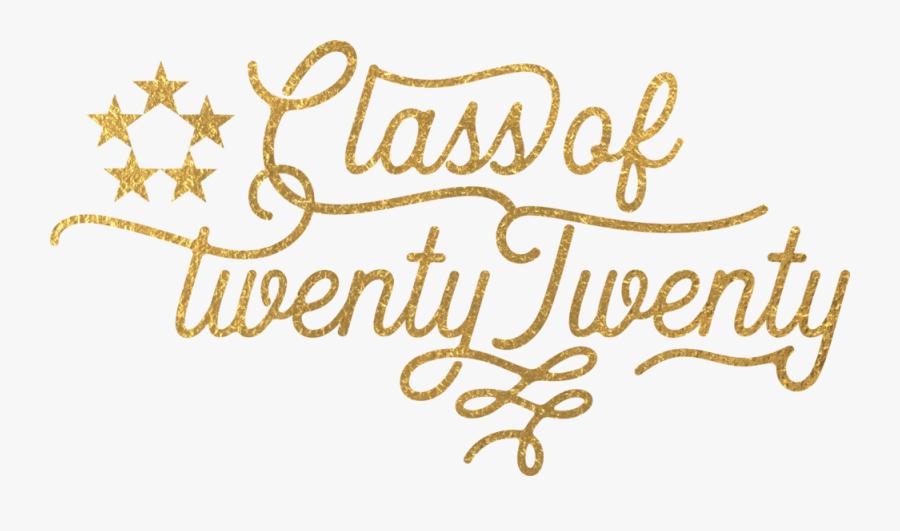 Class Of 2020 Logo Gold Smaller.