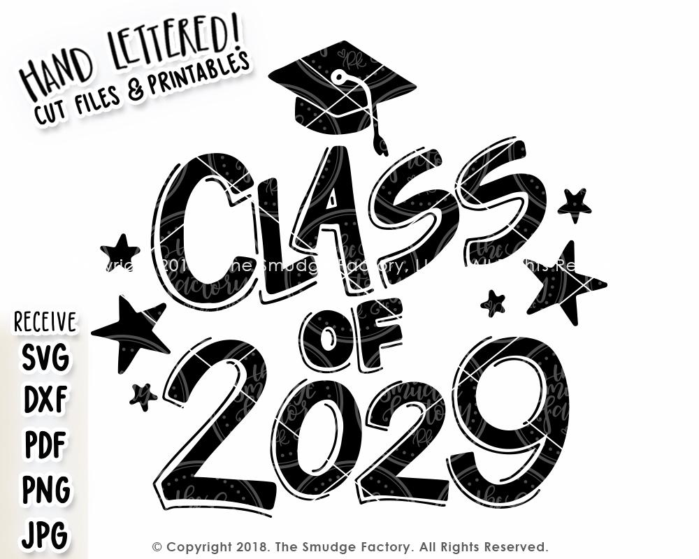 Copy of Class of 2029 SVG & Printable.
