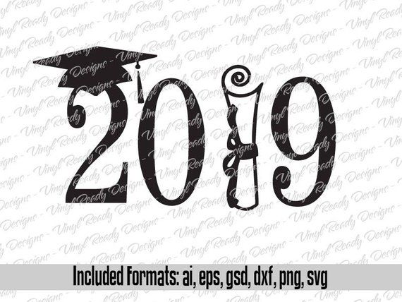 Class of 2019 Svg Cut File.