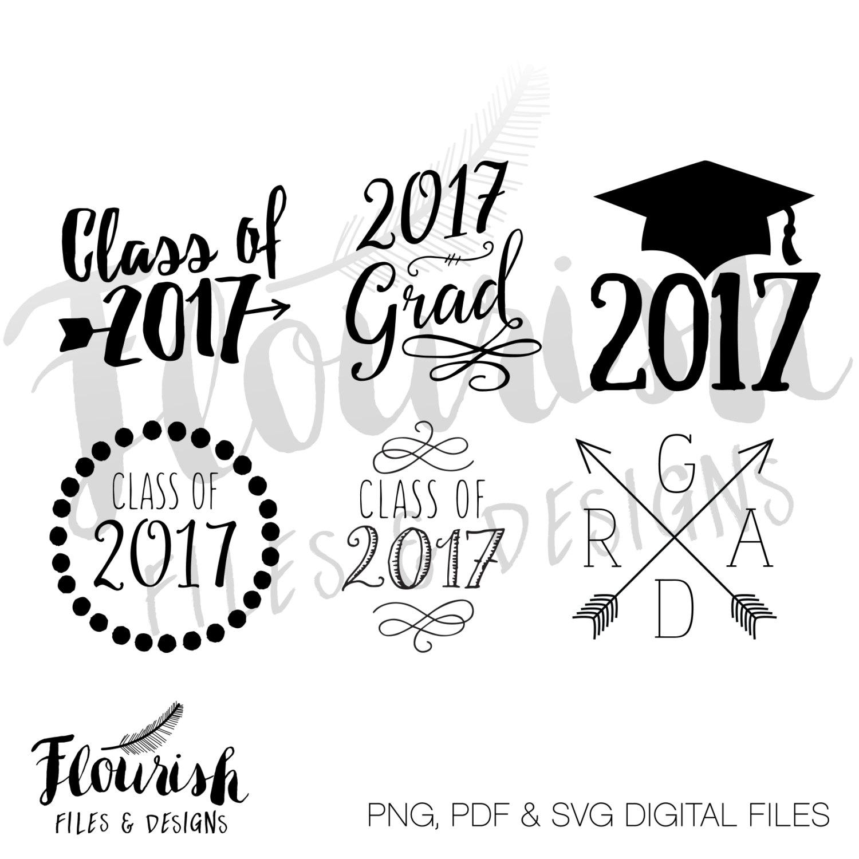 Class of 2017 shirts.