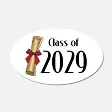 Class Of 2029 Wall Art.