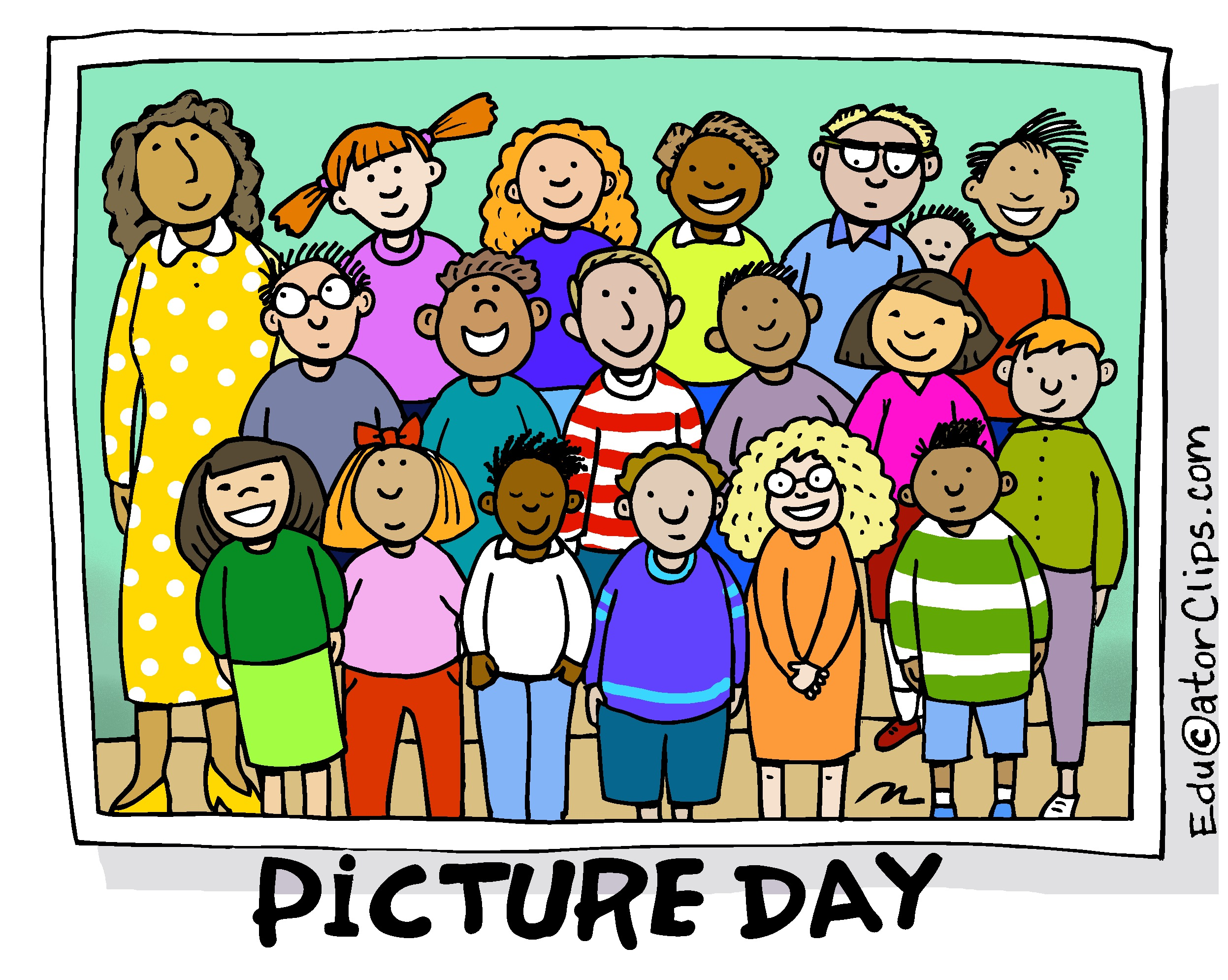 Class Picture Day Clip Art.