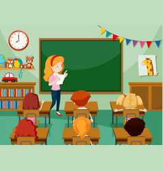Teacher Class Clipart Vector Images (over 130).