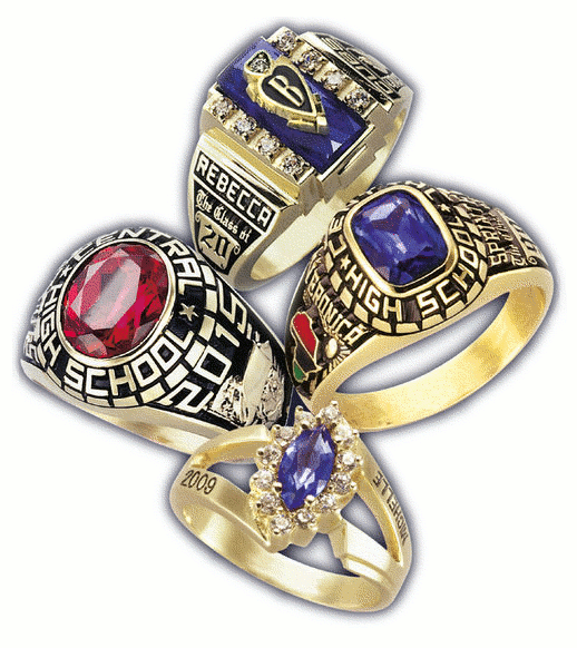 Free Class Ring Clipart.