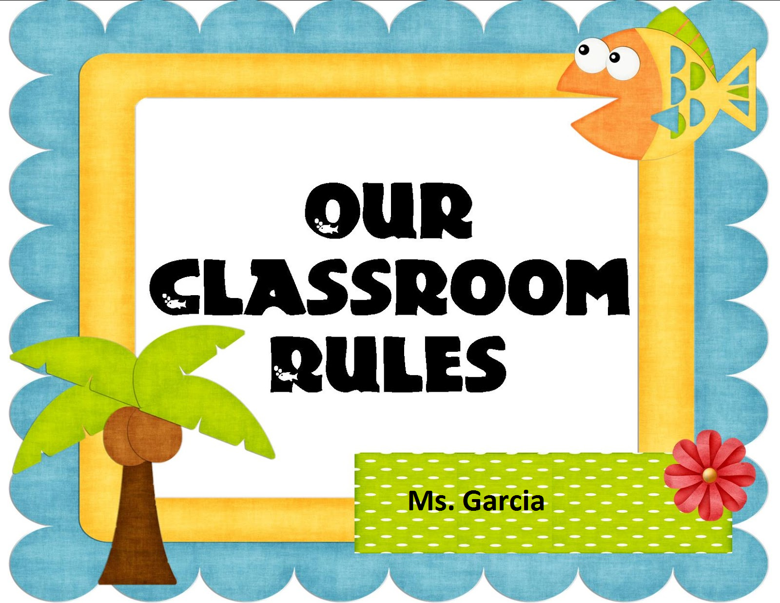 Classroom Rules Pictures.