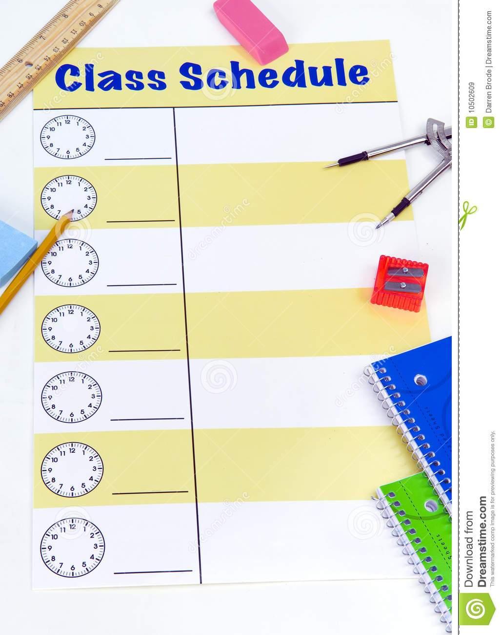 Class schedule clipart 3 » Clipart Portal.
