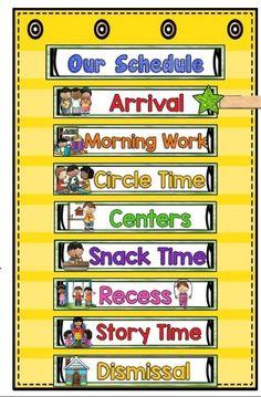 54 Best Classroom Schedule images.