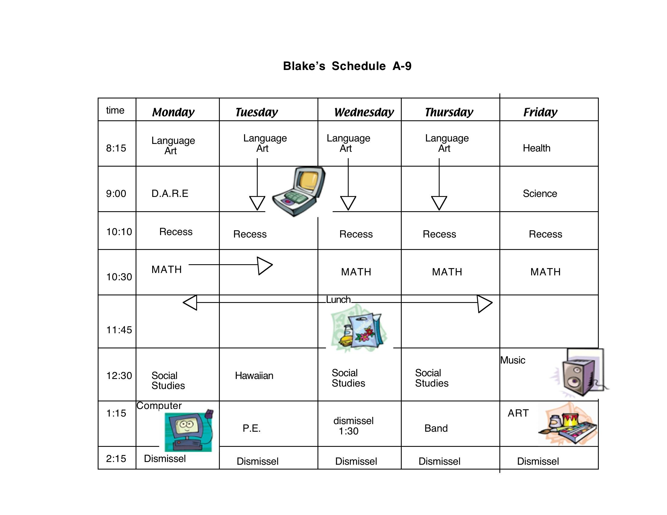 Free Class Schedule Cliparts, Download Free Clip Art, Free Clip Art.