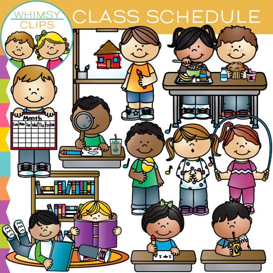 Class Schedule Clip Art , Images & Illustrations.
