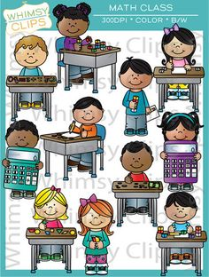 Class Sitting On Rug Clipart.