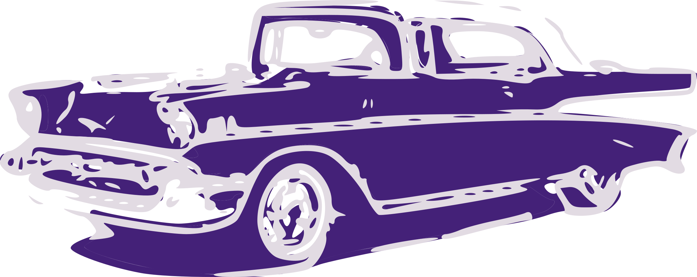 Free classic car clipart.