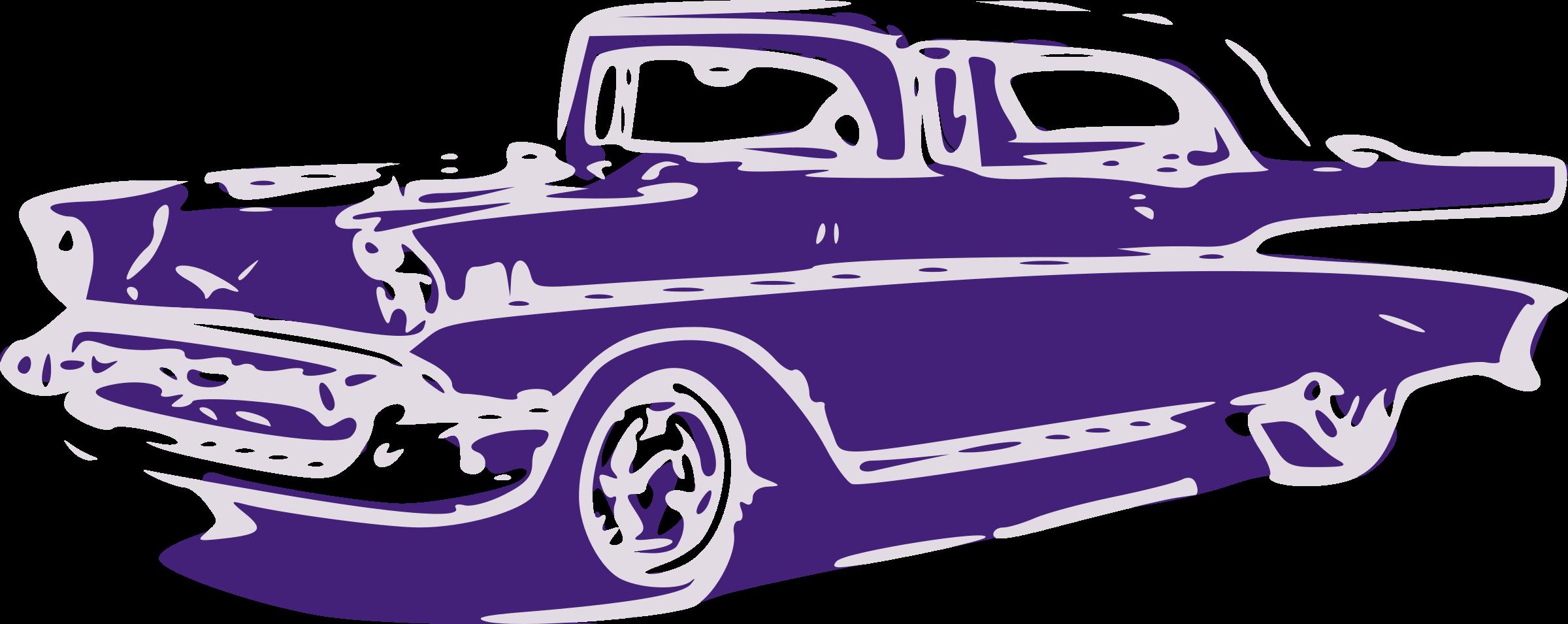 Free classic car clipart.
