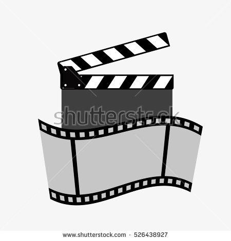 Film Clapboards Stock Vector 5648548.