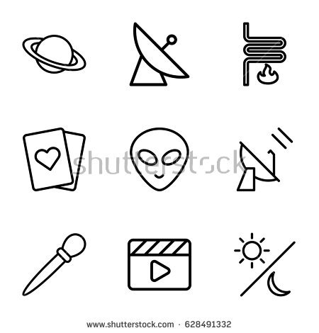 Alien From Movie Stock Images, Royalty.