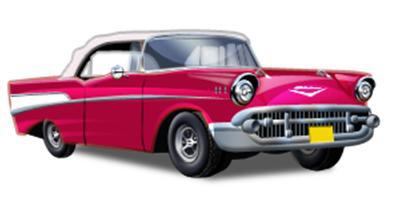 50's car.
